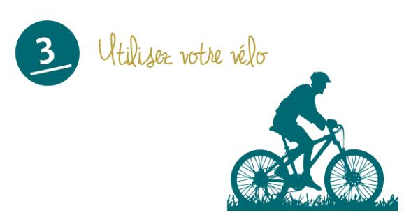 Utilisez votre vélo