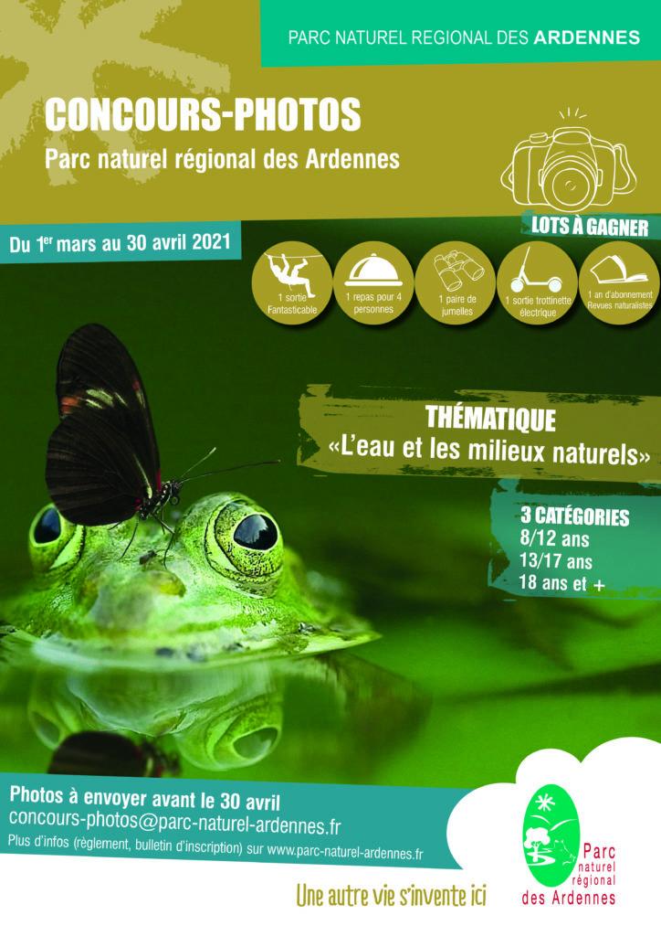 Affiche concours photos zones humides